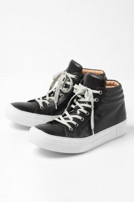 incarnation HORSE LEATHER VS HIGH CUT SNEAKER