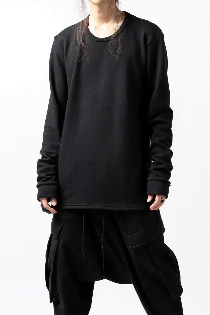A.F ARTEFACT exclusive SET-IN SLEEVE BASIC TOPS  / BOMBERHEAT®