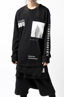 """A.F ARTEFACT """"ANSWERS"""" LOOSEY LONG SLEEVES"""