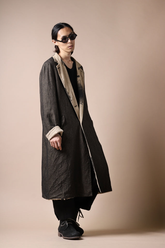 forme d'expression exclusive Reversible Duster Coat