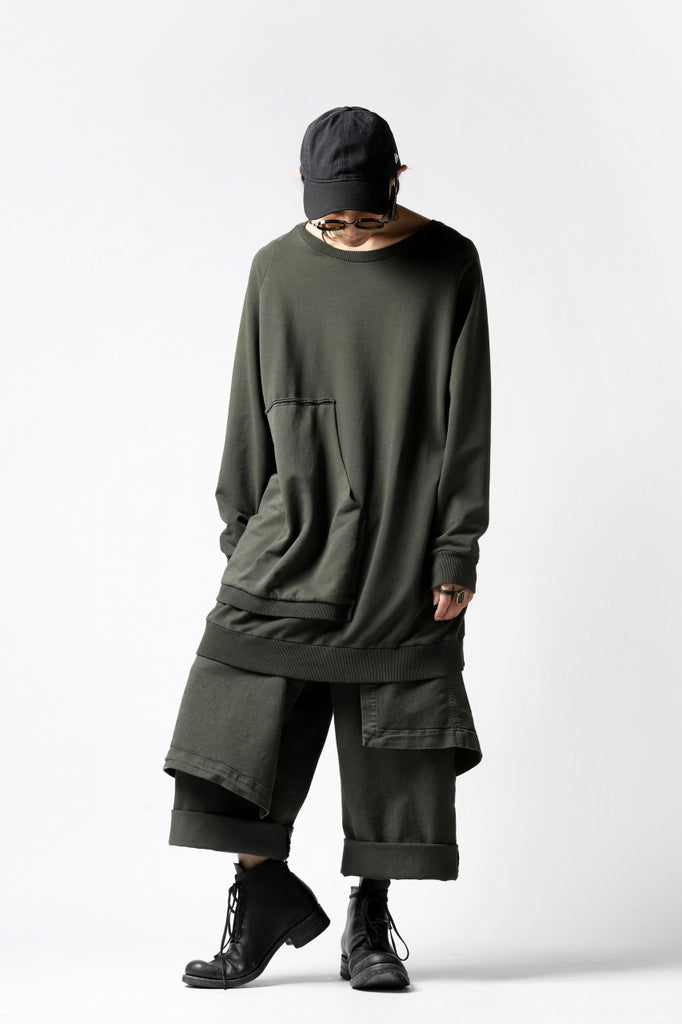 STYLING - Long Sweat Shirt - Pxxx OFF.