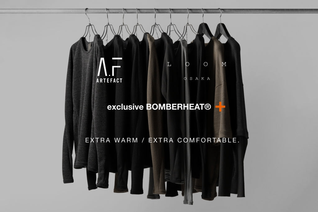 A.F ARTEFACT exclusive BomberHEAT®+ / この冬の為の企画 - (20-21AW).