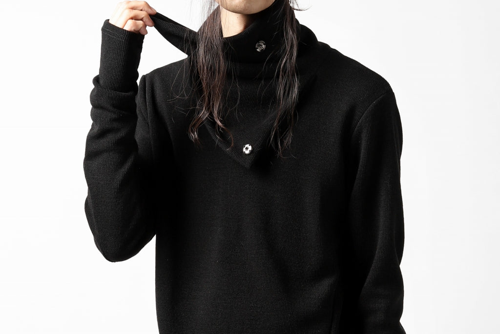 A.F ARTEFACT exclusive 2WAY HIGHNECK TOPS / EXLANWOOL