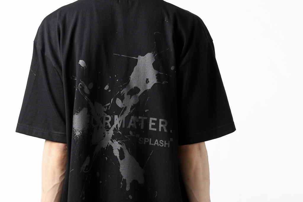 "DEFORMATER.® VANISHED PRINT ""SPLASH"" T-SHIRT"