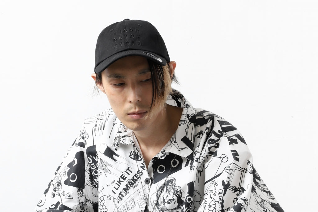 """A.F ARTEFACT """"NUMBERS"""" EMBROIDERY LOW-CAP"""