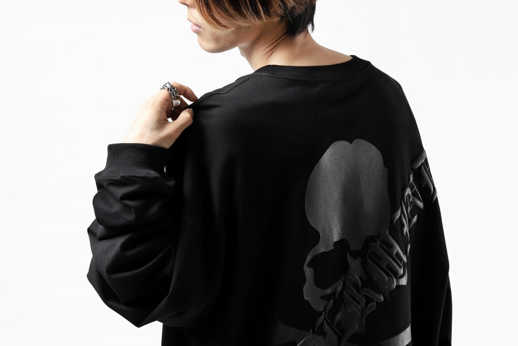 mastermind JAPAN BOXY-FIT LS / RUBBER AND FOAM PRINTED