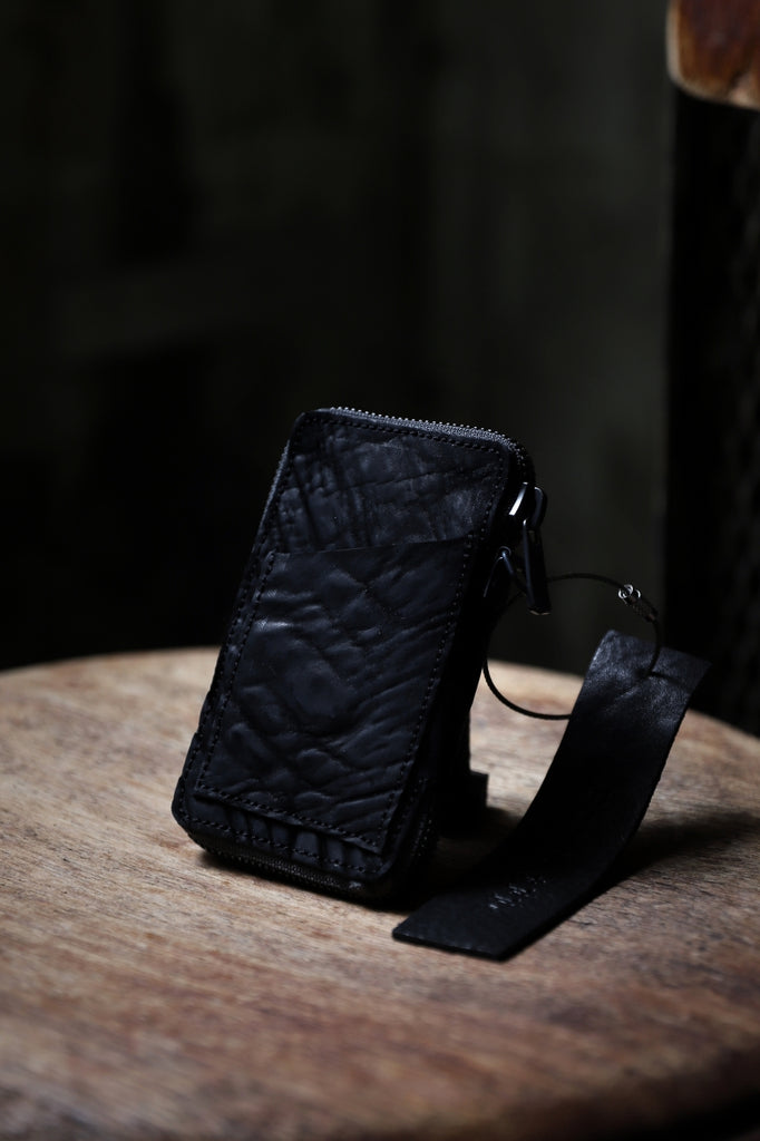 "Portaille ""Limited Made"" ZIP KEY CASE / CORDOVAN SPLIT"