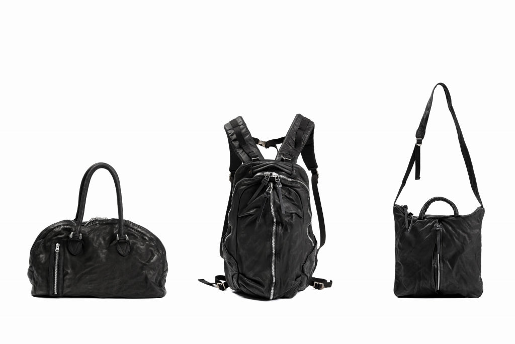 """BACKLASH """"Italy Shoulder Leather"""" BAGS - (SS21)."""