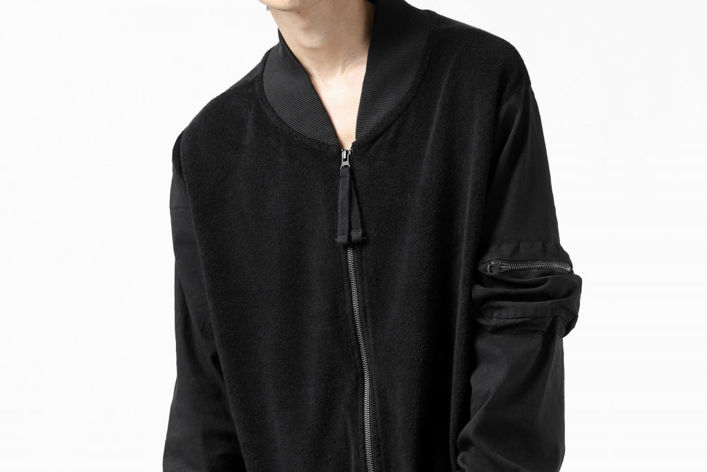 thomkrom MA-1 JACKET / SOFT FROTTEE