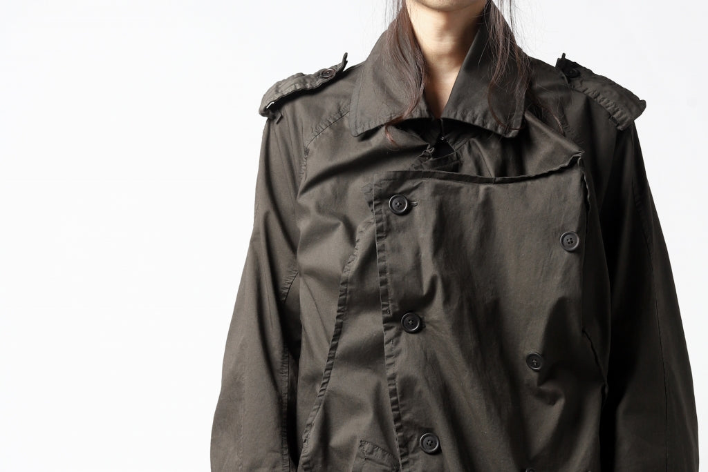 RUNDHOLZ DIP MILITARY SHORT COAT