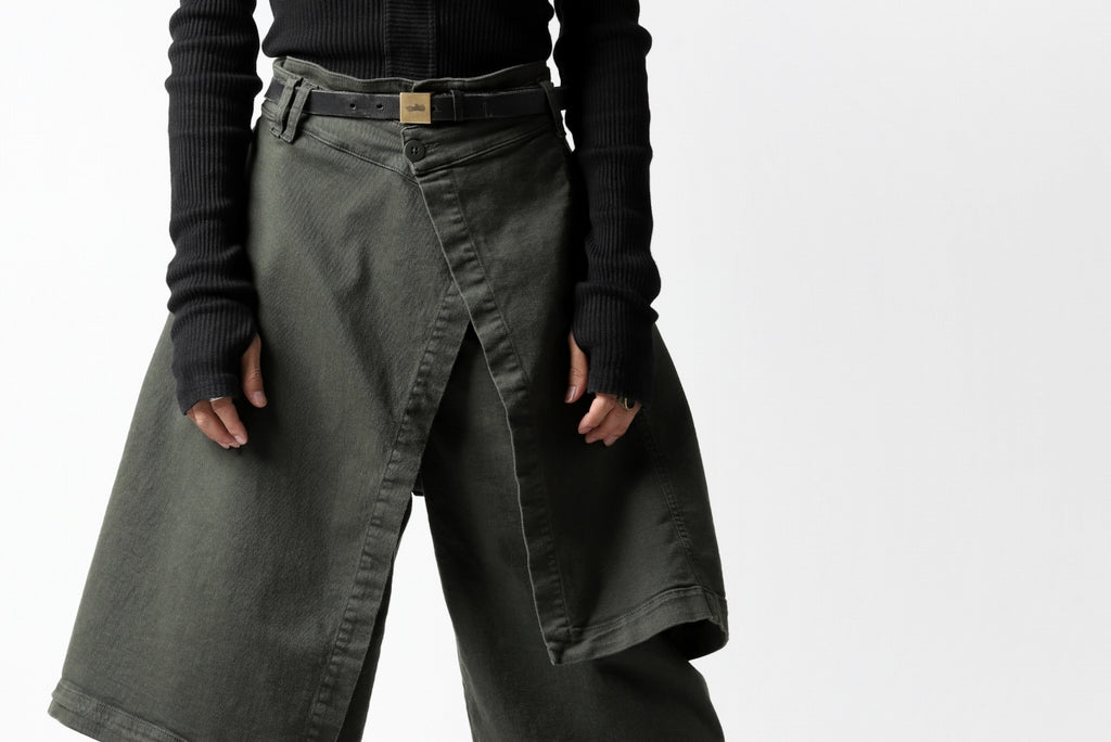 Pxxx OFF by PAL OFFNER WRAP TROUSERS / STRETCH DENIM