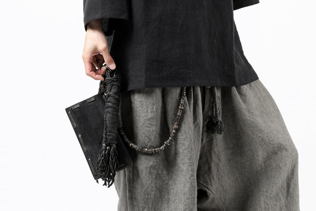 "【予約商品】BLOW THE WILD BRASSES HANDFORGED by JUN UEZONO ""WILD WALLET/BEADS CORD"""