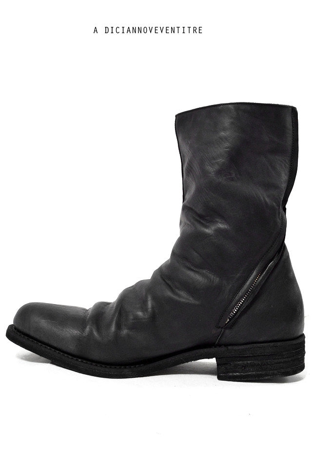 A DICIANNOVEVENTITRE A1923 Twisted Boot Horse Oiled ST-2 (NERO)