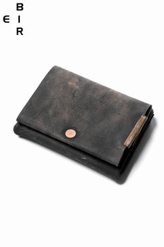 画像をギャラリービューアに読み込む, ierib Smart Folding Wallet / Shell Cordovan #C (MIX BLACK)