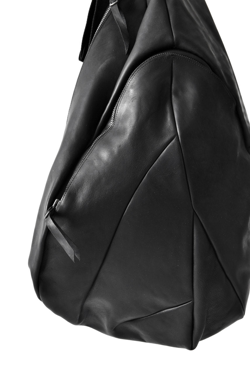 LEON EMANUEL BLANCK DISTORTION KILO DEALER BAG / GUIDI HORSE LEATHER (BLACK)