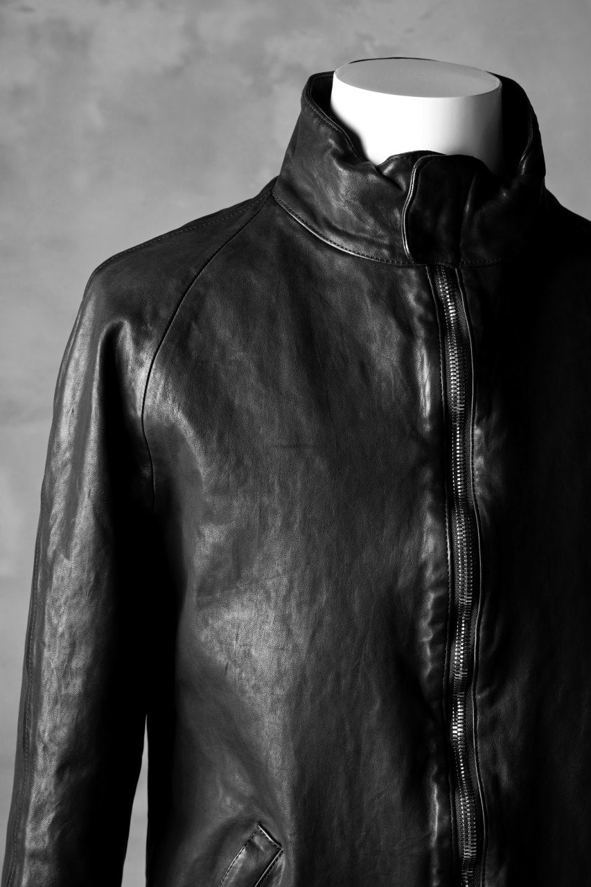画像をギャラリービューアに読み込む, ISAMU KATAYAMA BACKLASH exclusive HIGH NECK BLOUSON / JP-TANNED HORSE