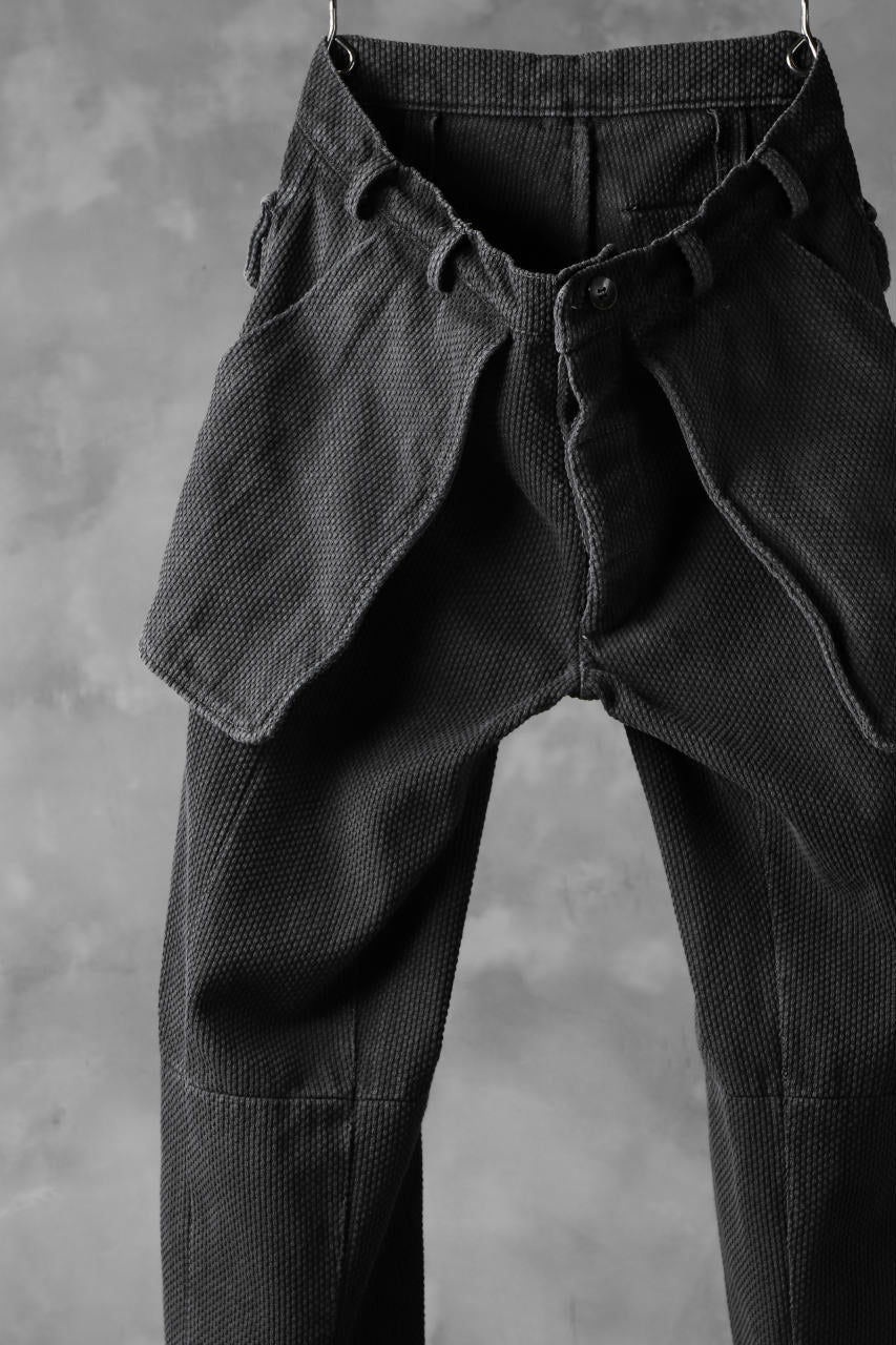 "_vital fanage painter pants / hand dye & wash ""SASHIKO"""
