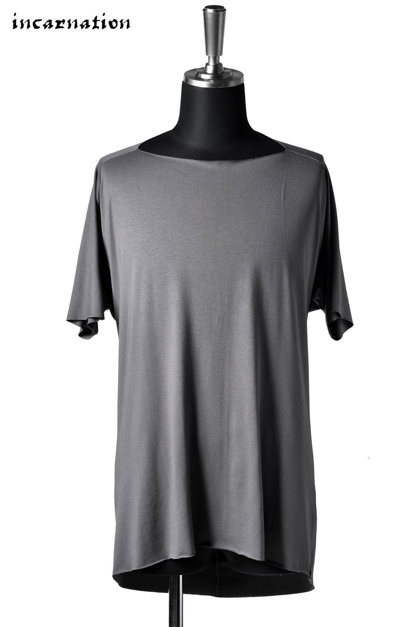 incarnation DOLMAN T-SHIRT SQUARE NECK (GREY)