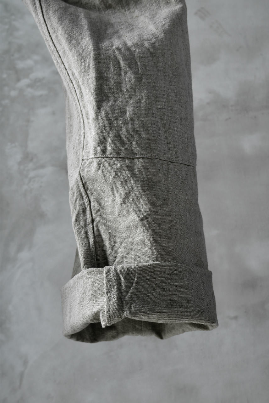 Load image into Gallery viewer, sus-sous natural wide trousers MK-1 / L56/C44 made with oyagi (NATURAL)