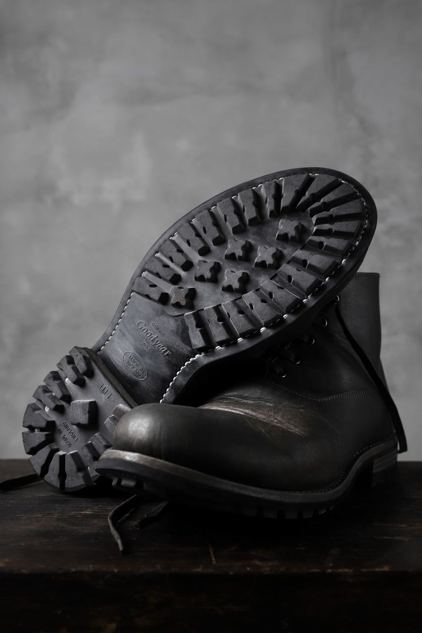 "Portaille ""one make"" Albert Boots (PUEBLO by Badalassi Carlo / Hand Dyed BLACK-BROWN)"