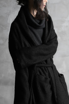 画像をギャラリービューアに読み込む, A.F ARTEFACT exclusive WARM GOWN COAT / COMPRESSED KNIT BOUCLE