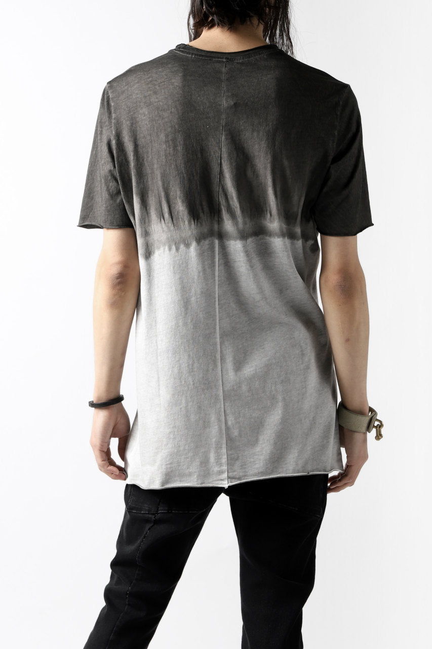 thomkrom GRADATION DYE T-SHIRT (BLACK T90)