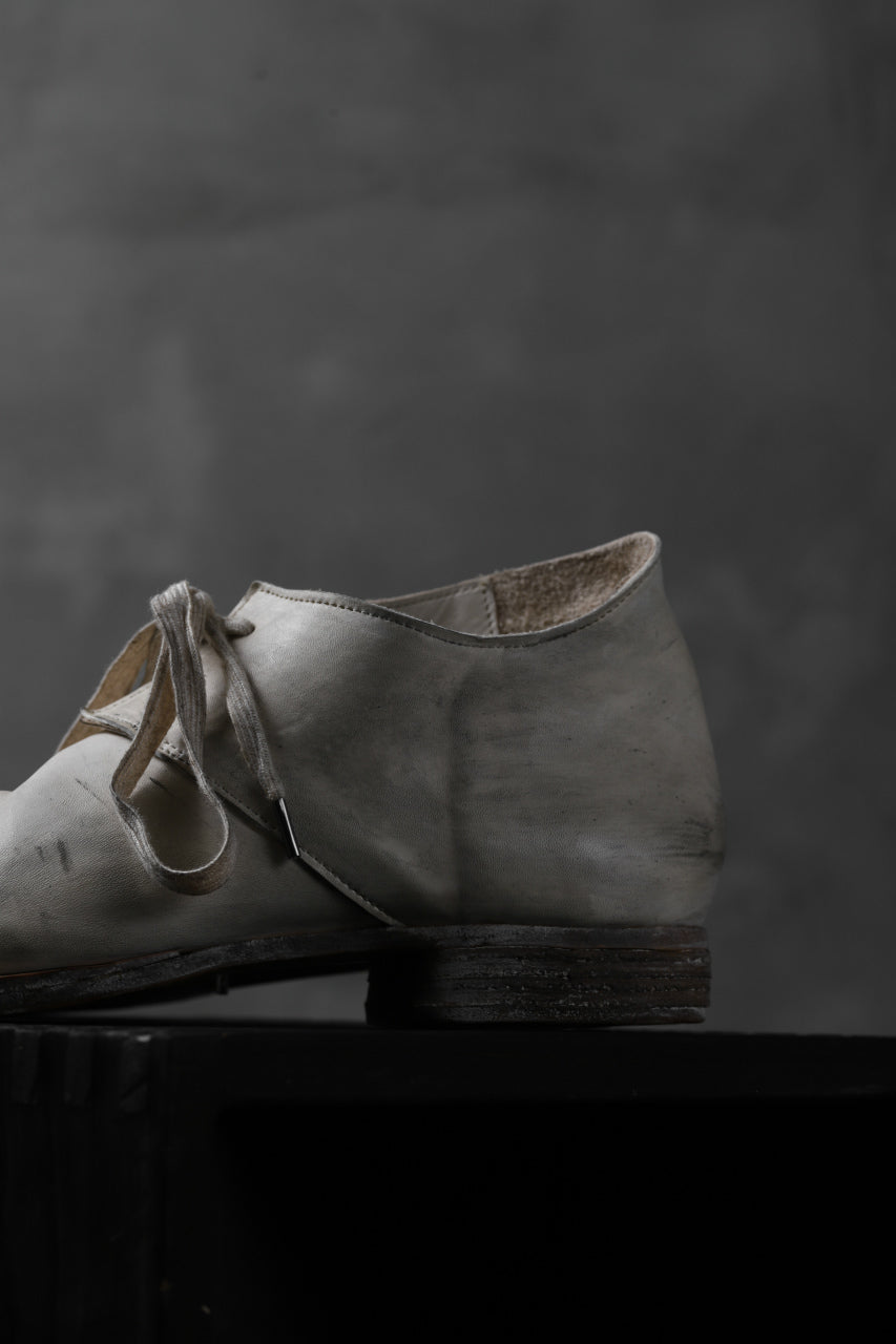 Portaille exclusive PL20 Derby Shoes (ROMABIANCO Soft Horse / Dusty Waxed WHITE)