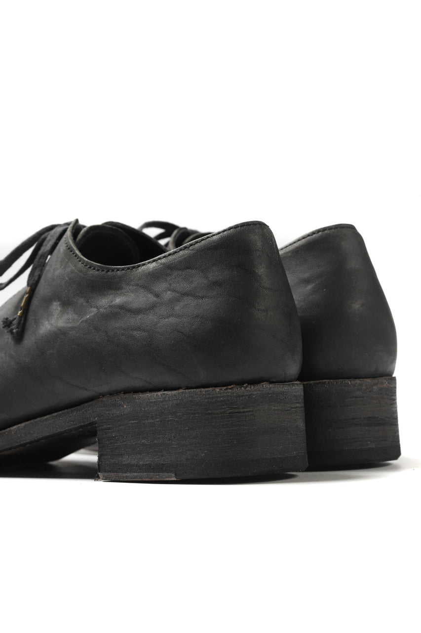 画像をギャラリービューアに読み込む, EVARIST BERTRAN  EB2T Derby Shoes / Washed Culatta (BLACK)