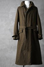 画像をギャラリービューアに読み込む, sus-sous motorcycle coat MK-2 / C60L40 4/1 Cloth (BROWN KHAKI)