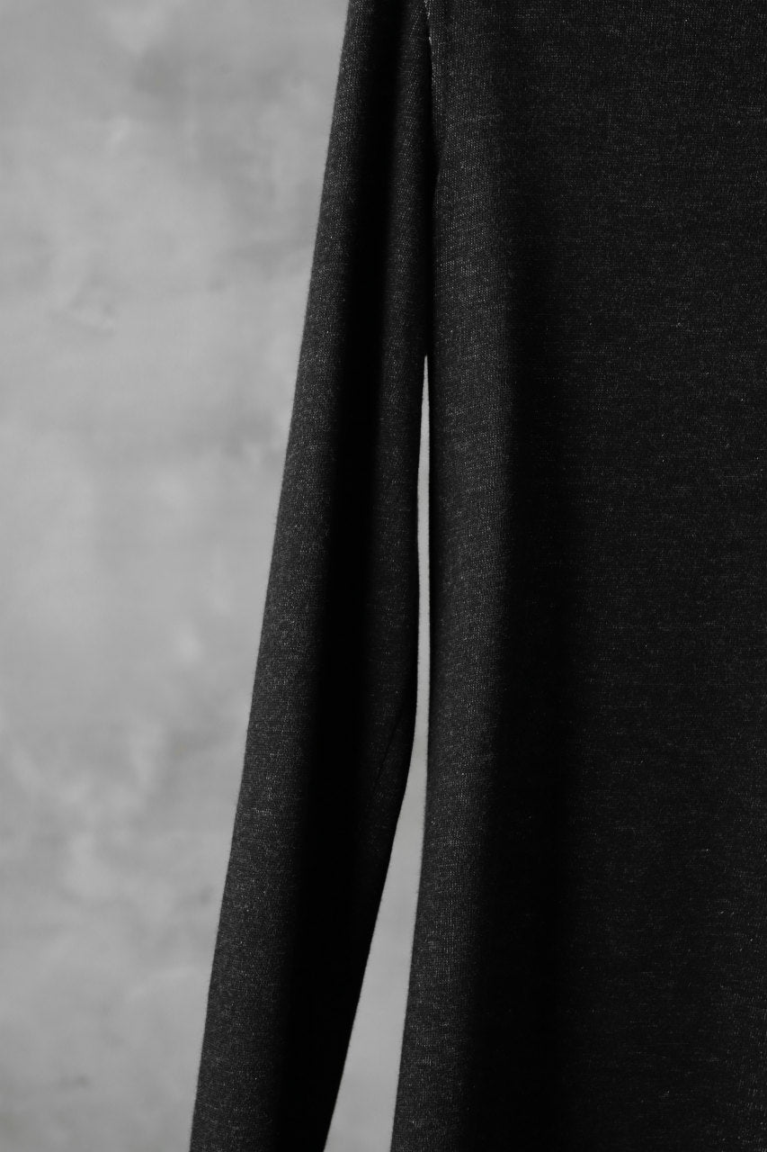 画像をギャラリービューアに読み込む, SOSNOVSKA DICHROMATIC WRENCHING LONG SLEEVE (BLACK)