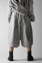 画像をギャラリービューアに読み込む, RUNDHOLZ DIP DROPCROTCH WIDE SHORTS / DYED C-CLOTH (ZINC)