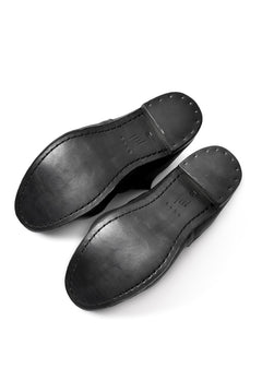 "画像をギャラリービューアに読み込む, prtl x 4R4s exclusive 2way slip-on / Aniline buffalo ""5-00M"" (BLACK)"