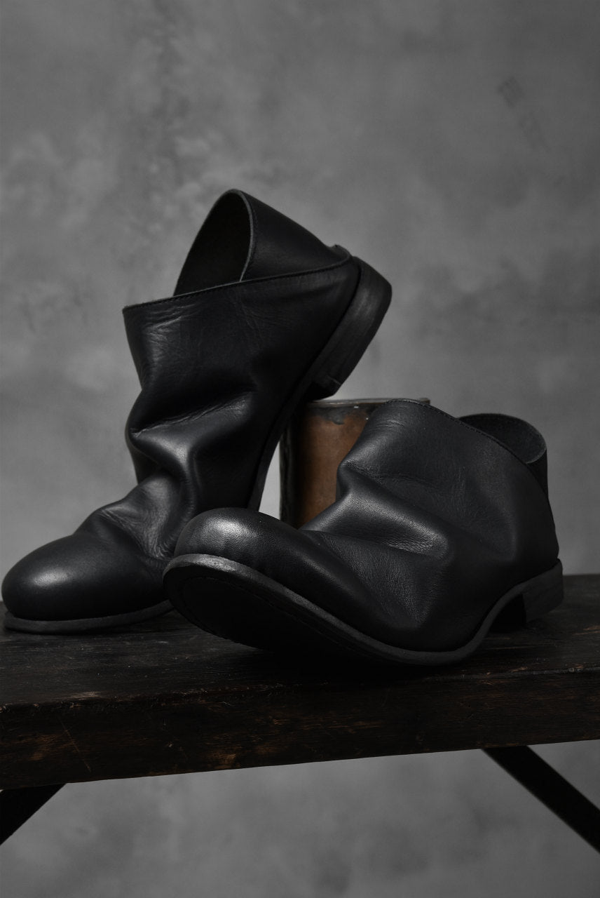 画像をギャラリービューアに読み込む, Portaille exclusive Babouche Slipon Shoes (JP-Smooth Pelle / BLACK)