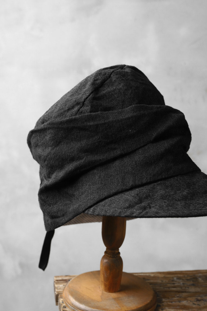 Load image into Gallery viewer, forme d'expression Forage Cap (Off Black)