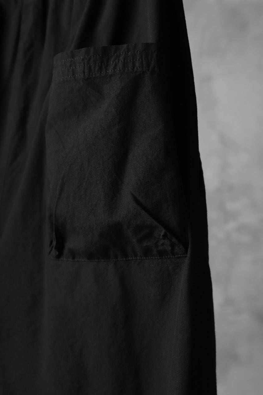 The Viridi-anne EASY WIDE TAPERED TROUSERS / GARMENT DYED