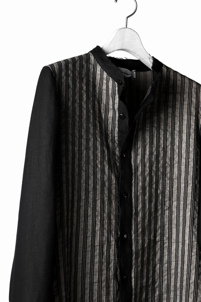 Load image into Gallery viewer, un-namable exclusive Paneled Juke Shirt (Sarti Stripe+Linen)