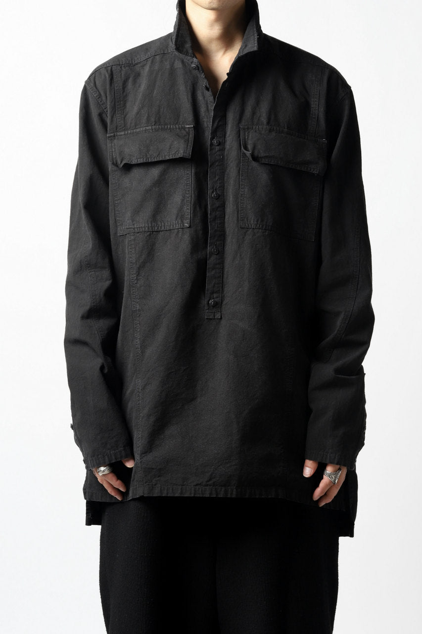 A.F ARTEFACT SWITCHING SHIRTS PULLOVER (BLACK)