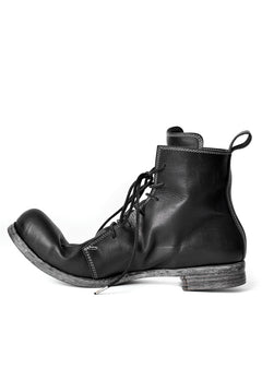 Load image into Gallery viewer, N/07 Laced Mid Boots / Cavallo di Giappone(hand-oiled) (BLACK)