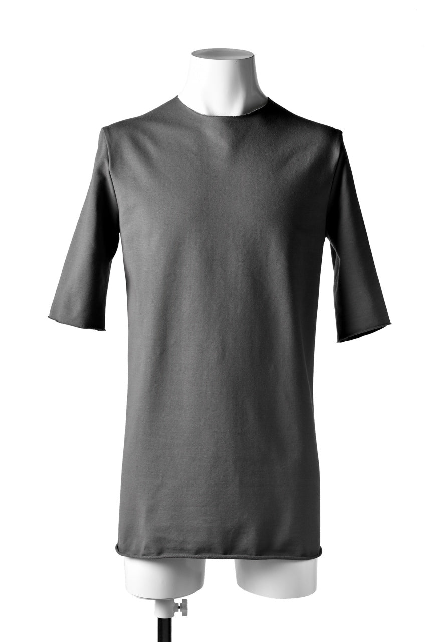 incarnation ANATOMICAL SEAM HALF SLEEVE T-SHIRT (GREY)