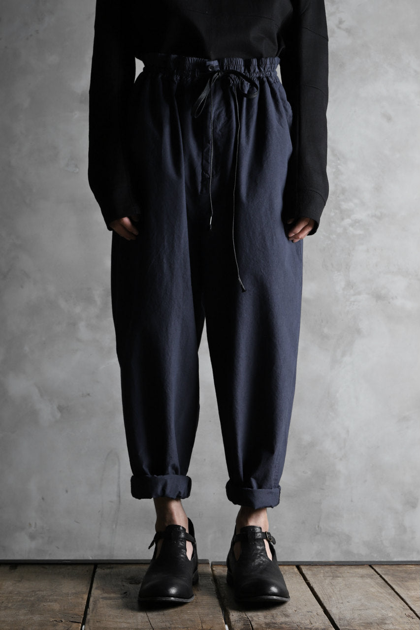 画像をギャラリービューアに読み込む, The Viridi-anne EASY WIDE TAPERED TROUSERS / GARMENT DYED