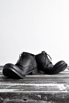 "画像をギャラリービューアに読み込む, prtl x 4R4s exclusive Derby Shoes / Yezo Deer ""No 3-3M"" (BLACK)"