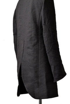 Load image into Gallery viewer, SOSNOVSKA METAL THREADS LONG JACKET (BLACK)