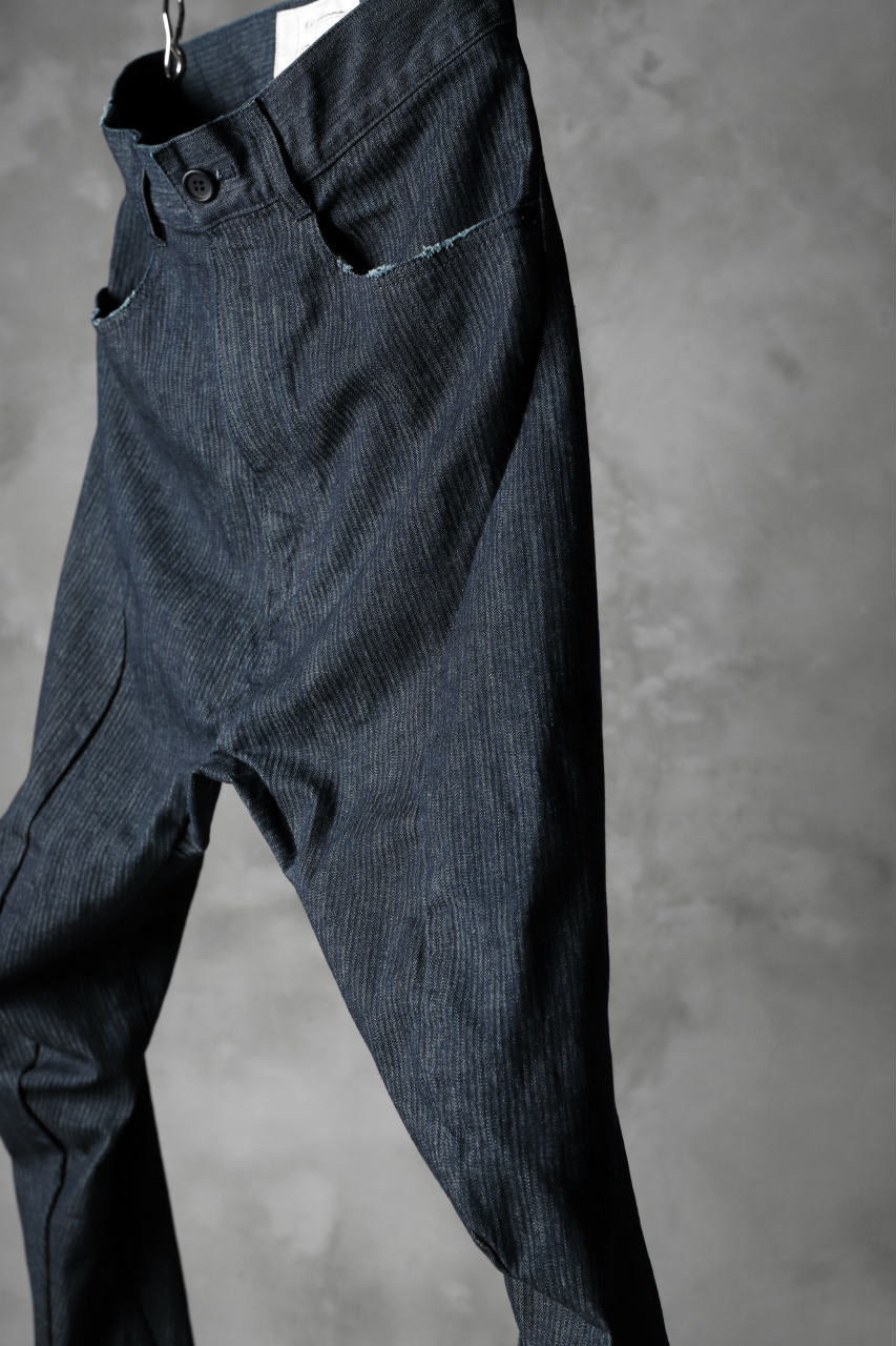 N/07 exclusive CONSTRUCTIVE FORMED SKINNY TROUSERS [ High Stretch Denim/Bio ] (INDIGO)