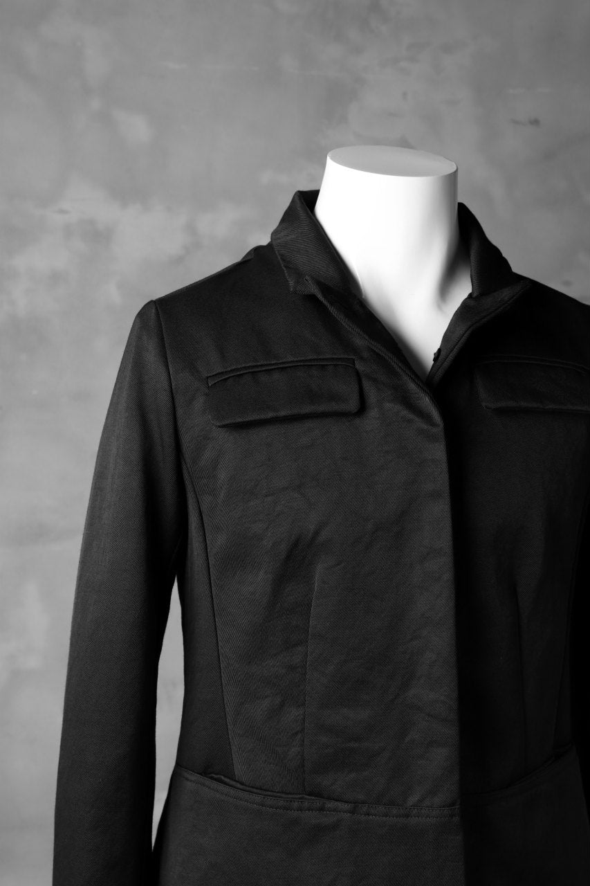 RUNDHOLZ SHORT LENGTH JACKET / BLACK'N TWILL (BLACK)