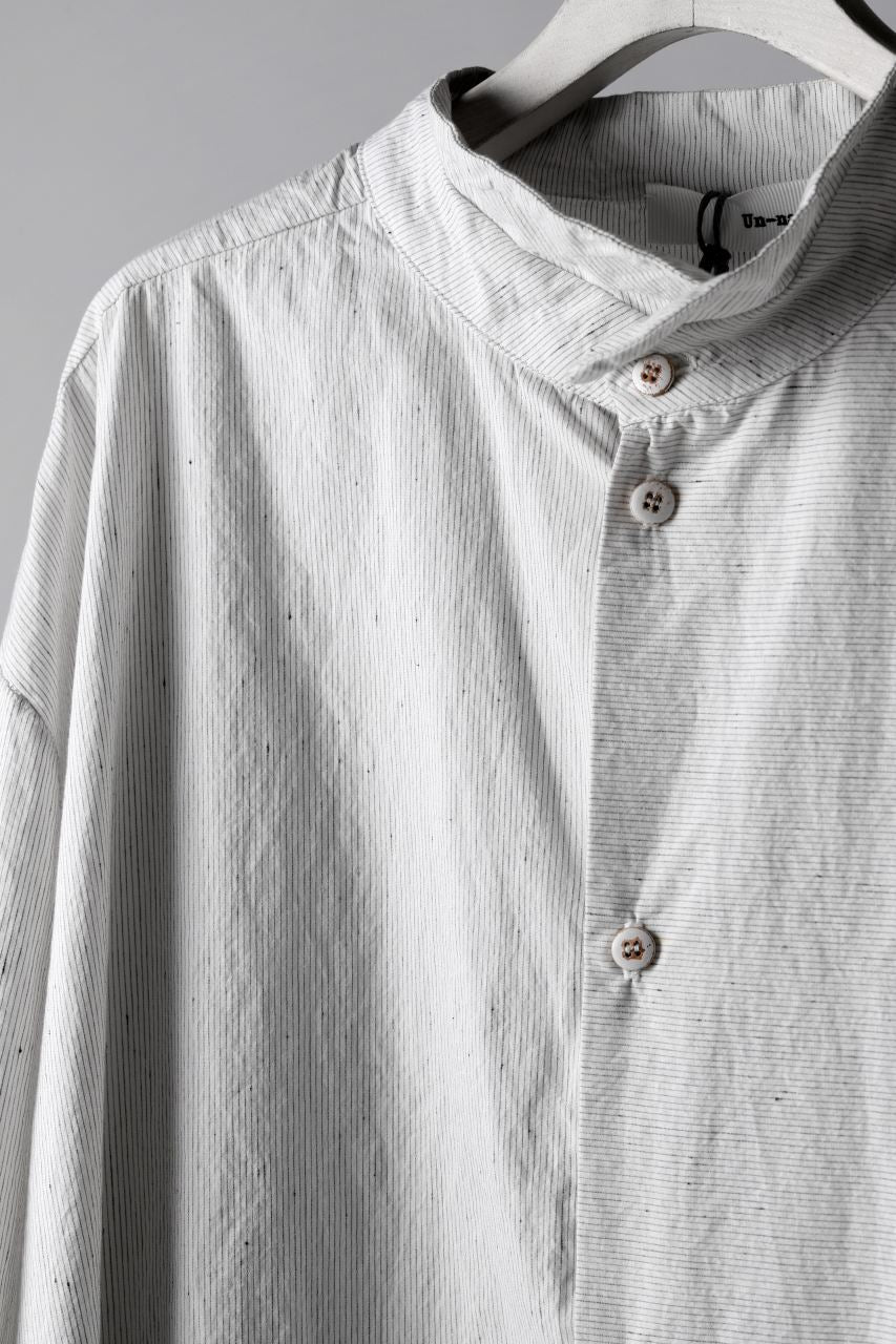 un-namable page Overfit/Layer Shirt (Cotton Stripe)