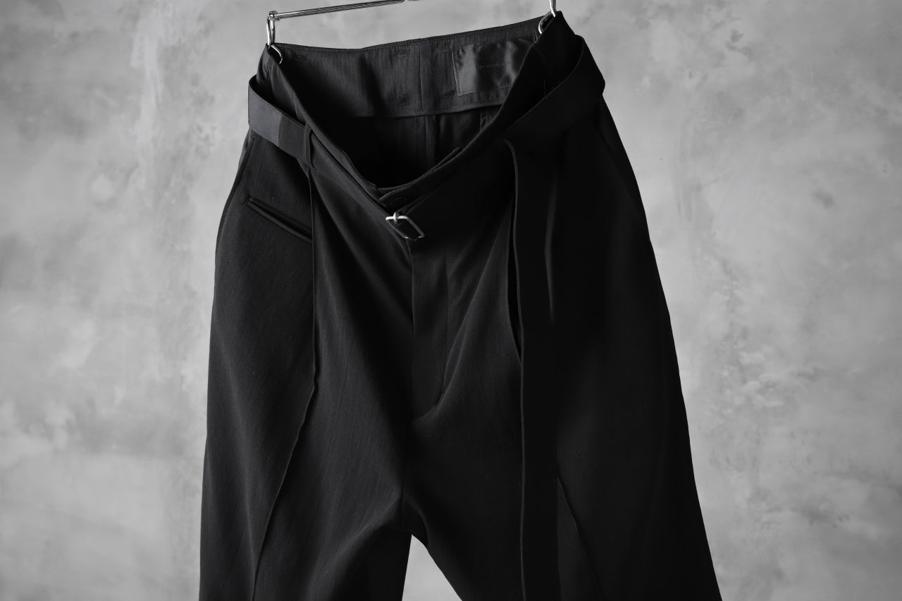 The Viridi-anne SEMI-WIDE CROPPED PANEL PANTS