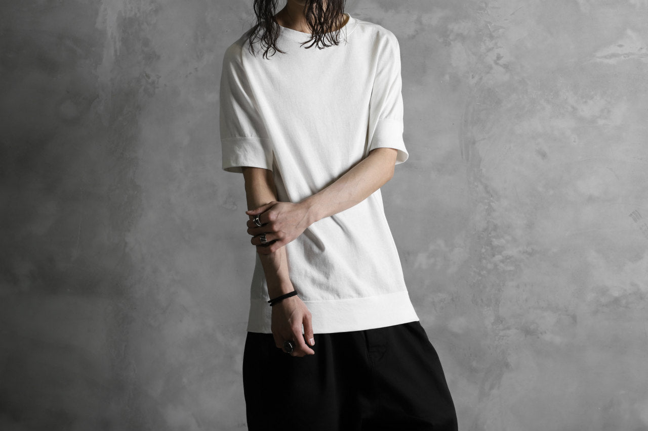 KLASICA LEWIN CLASSIC H/S CUT & SEWN / DRY TWILL JERSEY (WHITE)