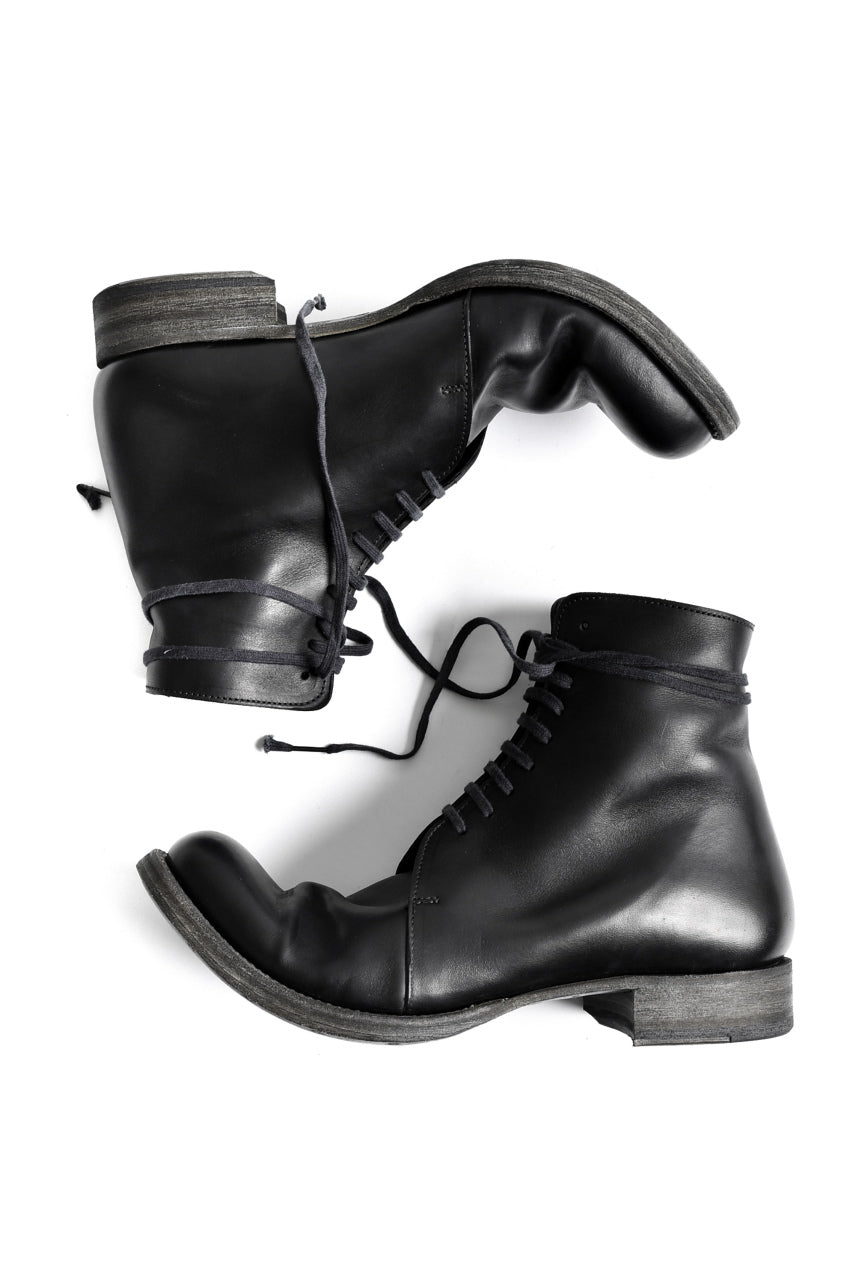 EVARIST BERTRAN  EB3 Laced Middle Boots (BLACK)