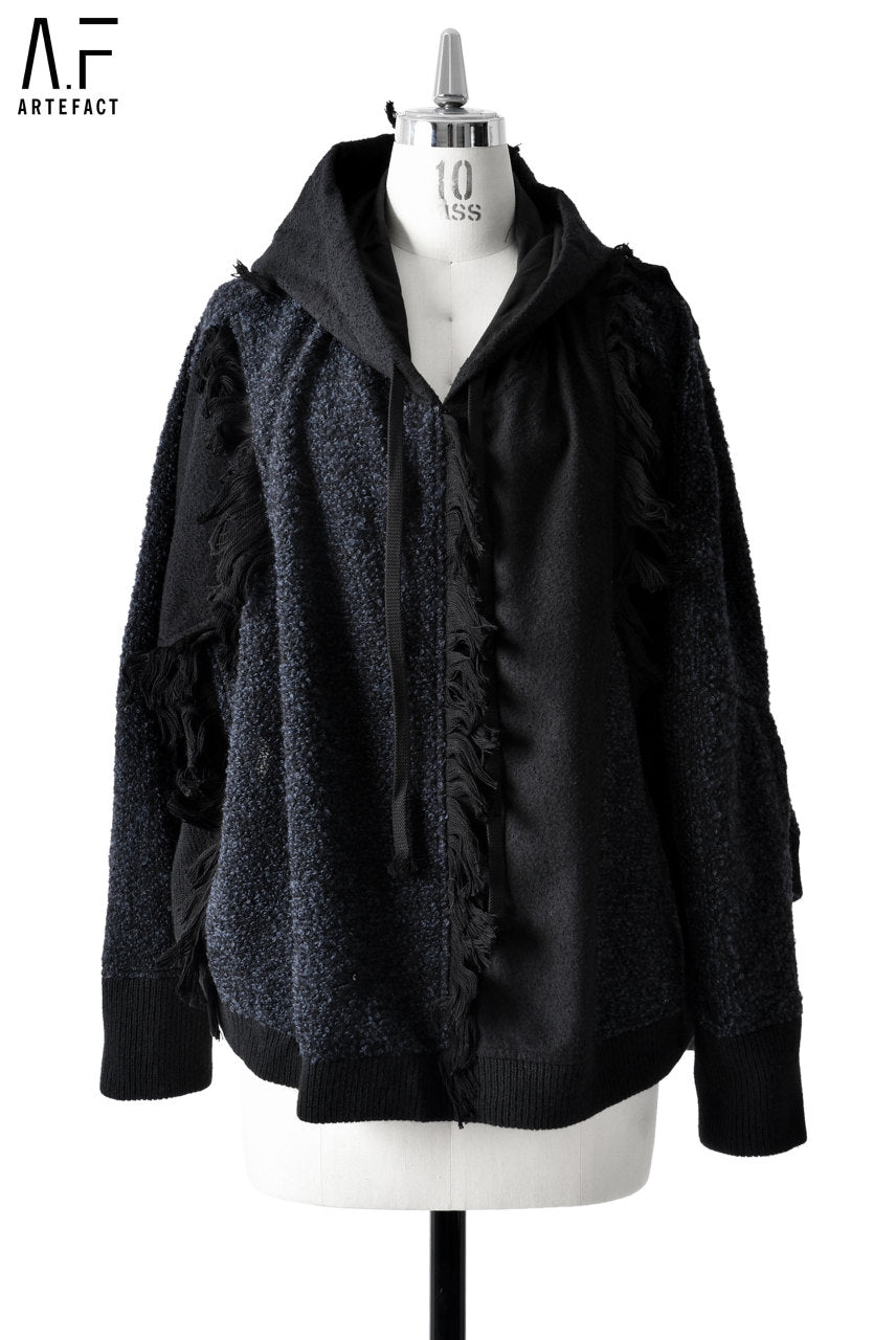 A.F ARTEFACT FEMME SWITCHING HOODED PULLOVER