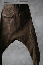 画像をギャラリービューアに読み込む, N/07 exclusive CONSTRUCTIVE LAYERED CARGO JODHPURS [ Stretch Weapon / Object Dye ] (D.BROWN(柿渋染+鉄媒染))